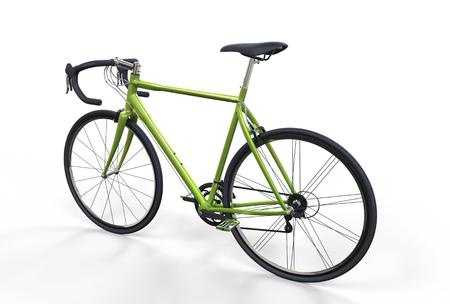 Green Sport Bike
