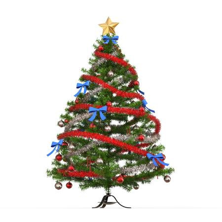 カラフルなクリスマス ツリー