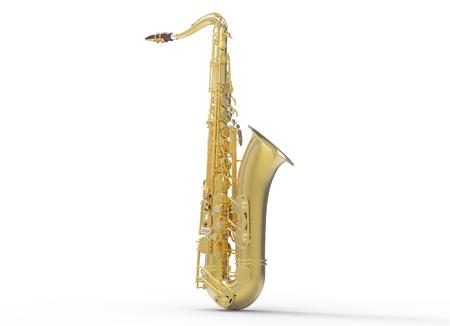 jazzy: Saxophone Stock Photo