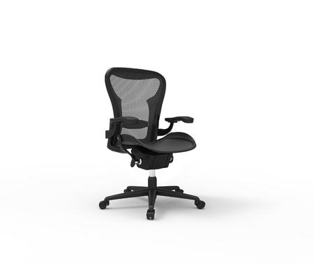elbow chair: Black Modern Office Chair