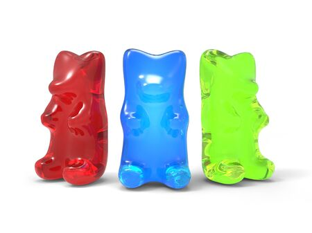 gummie: Three Color Gummy Bears