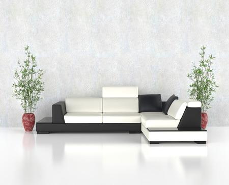 modern living: Bright clean modern living room
