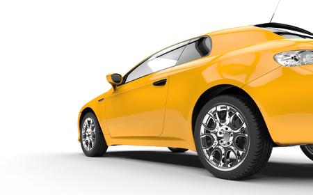 yellow car: Family Yellow Car 2