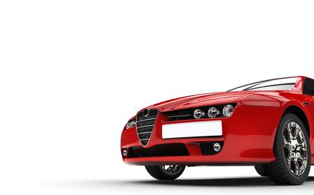 Italian Car Hood Closeup