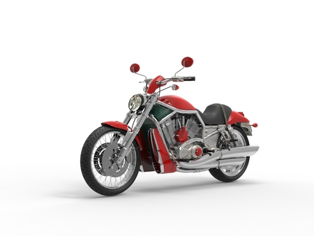 roadster: Red Roadster Bike