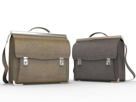 brown: Brown briefcases