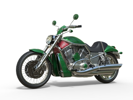 roadster: Green Metallic Roadster Bike