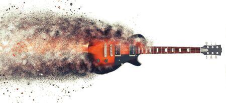 metal grunge: Hard Rock guitar - Particle FX
