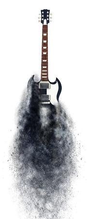 heavy metal: Heavy metal guitar - particle FX