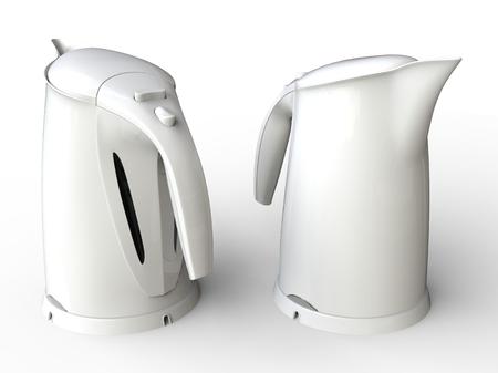 kettles: hervidores de agua blanca