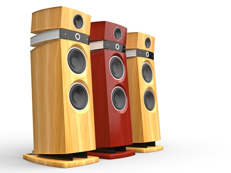 party system: Hi-tech speakers - wooden variations