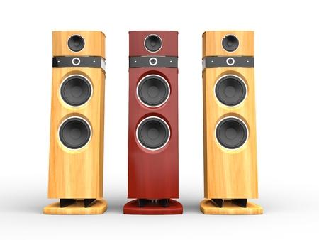 woofer: Hi-tech speakers - wooden variations