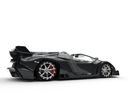 supercar: Black Race Supercar