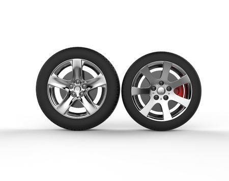 rims: Car wheels - chrome rims