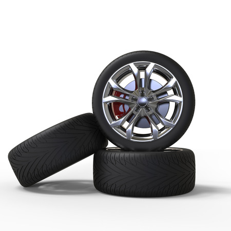 vulcanization: Racing car wheels
