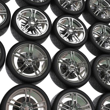 vulcanization: Tyres background