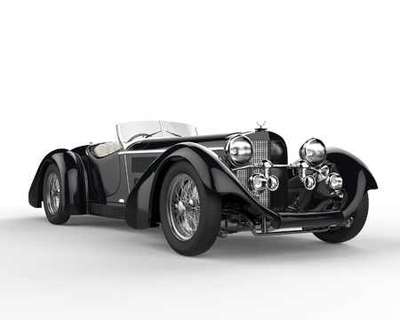 Great vintage car - beauty shot