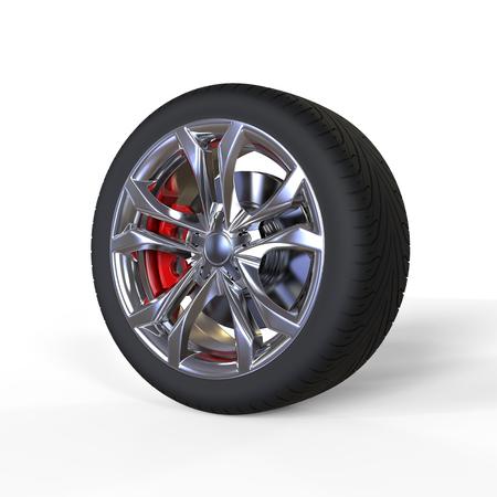 vulcanization: Race car tire