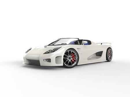 sportscar: White Sportscar