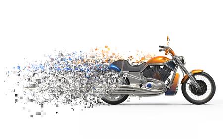 fx: Heavy bike - disintegration FX