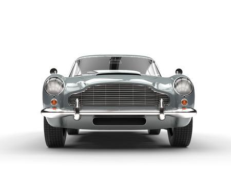 Classic vintage car - front closeup Stock Photo