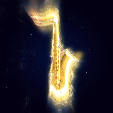 soprano saxophone: Saxofón - explosión de la luz