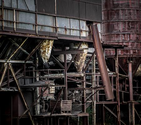 urban decay: Urban decay - big rusty machinery