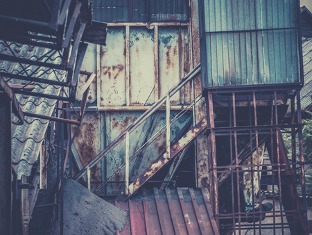 urban decay: Urban decay - old decaying factory