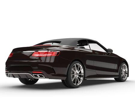 Expensive cool brown car