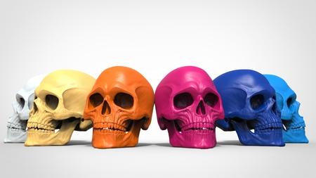 rainbow: Skull rainbow