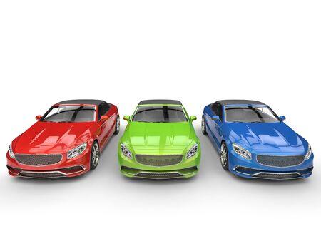rgb: RGB cabriolet cars