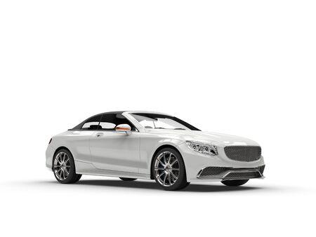 headlights: White business car