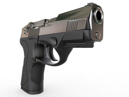 shot: Gun - closeup shot Stock Photo