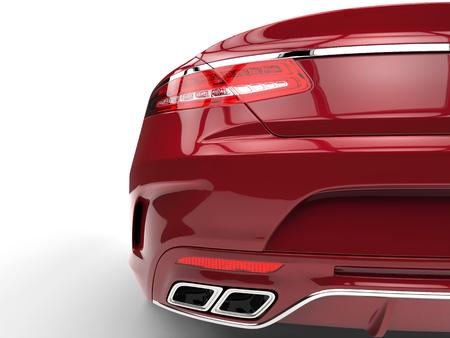 taillight: Taillight closeup shot