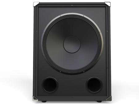 loudspeaker: Subwoofer loudspeaker