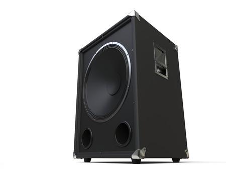 loudspeaker: Black subwoofer loudspeaker