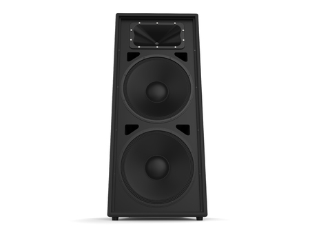 acoustic systems: Big black loudspeaker
