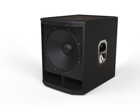woofer: Woofer loudspeaker - studo shot