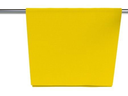 dishcloth: Yellow dish cloth