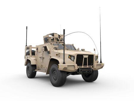 Light combat military vehicle Stock Photo