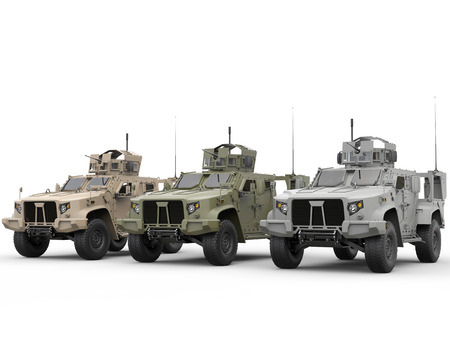 tactical: Military light armor tactical vehicles - all environments