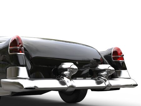 Vintage car taillights - closeup shot