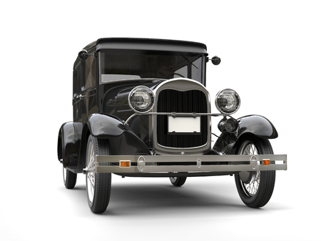 1920s cool black oldtimer auto