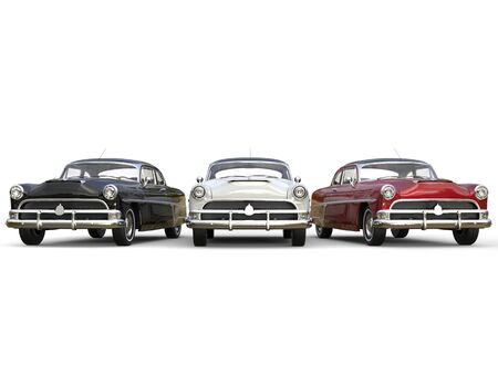 restored: Striking vintage cars in mint condition