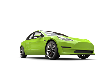 Mad green electric business car