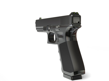 Modern semi - automatic tactical handgun