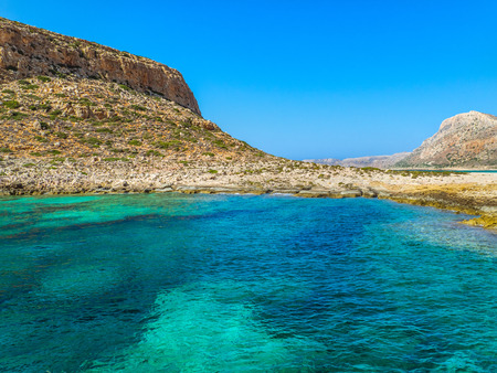 Amazing clear blue sea - beautiful secluded beach Reklamní fotografie