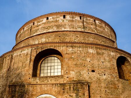 Ancient Roman Rotunda temple in Thessaloniki from 306. AD now an Orthodox Christian church