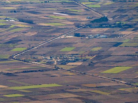 Flatlands of the Macedonia region of Greece