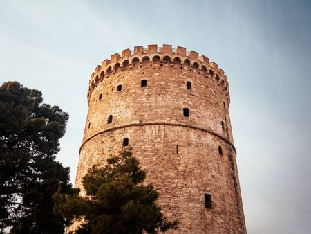 White Tower of Thessaloniki - ancient prison tower